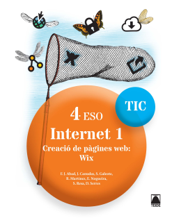INTERNET 1 TIC 4 ESO (CAT)(2017)