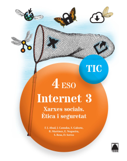 INTERNET 3 TIC 4 ESO (CAT)(2016)