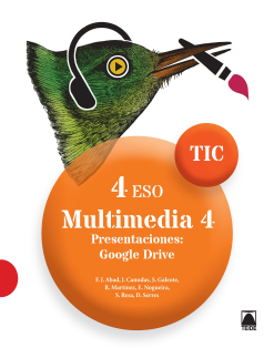 TIC 4º ESO. Multimedia 4 - 2016