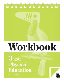 Workbook. Physical education 3 - 2015