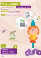 Duna. CCNN 2ºEPO - Objetos y materiales - 2015