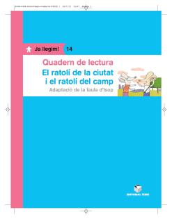Q.L. EL RATOLI CIUTAT I EL RATOLI DEL CAMP