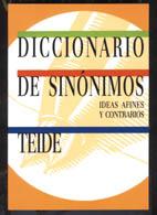 DICCIONARIO DE SINONIMOS,IDEAS AFINES Y CONTRARIOS