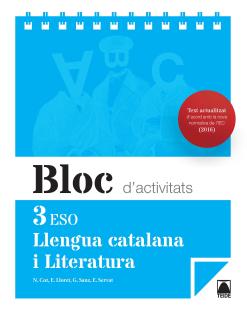 BLOC LLENGUA I LITERATURA 3 ESO(CAT) (2015)