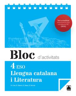 BLOC LLENGUA I LITERATURA 4 ESO(CAT)(2016)