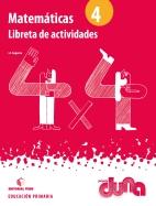 LIBRETA ACTIVIDADES MATEMATICAS 4 DUNA
