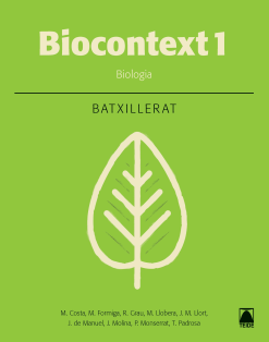 NOU BIOCONTEXT BIOLOGIA 1 BATXILLERAT (2016)