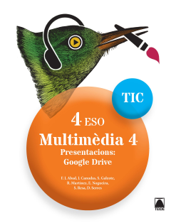 MULTIMEDIA 4 TIC 4 ESO (CAT)(2017)