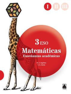 MATEMATICAS 3 ESO ENSEÑANZAS ACADEMICAS (2015)
