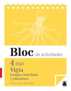 BLOC VIGIA 4 LENGUA Y LITERATURA 4 ESO (2016)