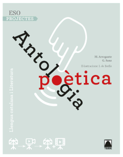 ANTOLOGIA POETICA - ESO PROJECTES D'AMBIT