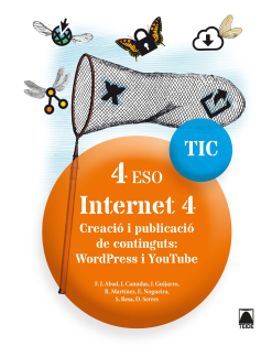 Quaderns TIC. Itnernet 4 - 4ESO. Ed2019