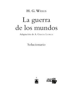 G.D. LA GUERRA DE LOS MUNDOS (ADAPTACION COMICS)