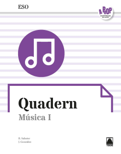 A PROP QUADERN MUSICA I ESO (CAT)(2019)