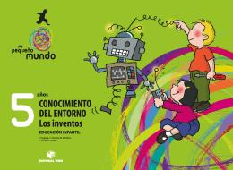 LOS INVENTOS P5 - MI PEQUEÑO MUNDO (EDICION 2019)