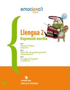 LLENGUA 2 EPO EMOCIONA'T: EXPRESSIO ESCRITA (CAT)